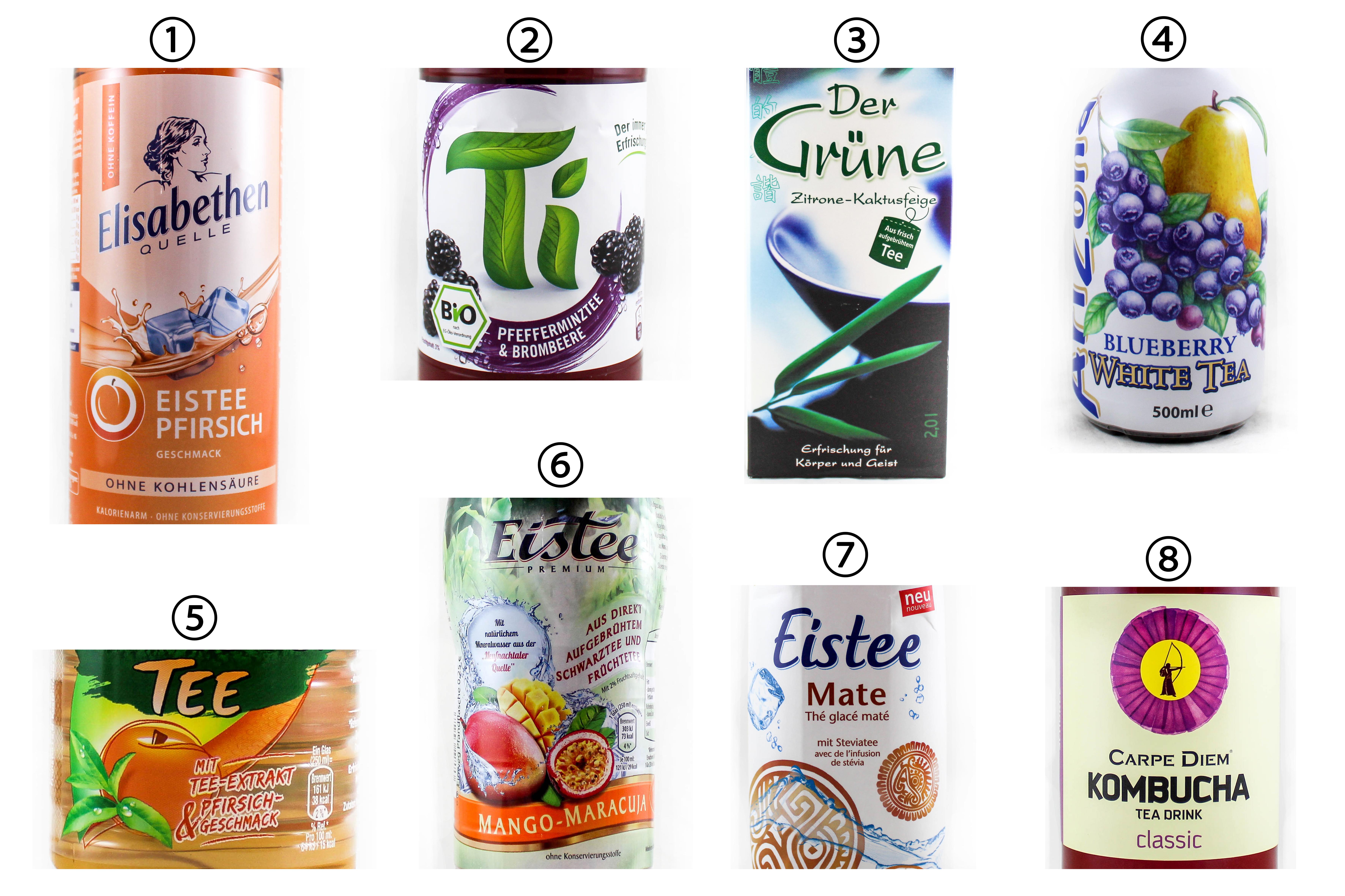 Umfrage: Eistee und andere Tee-Getränke: In welchen erwarten Sie ...