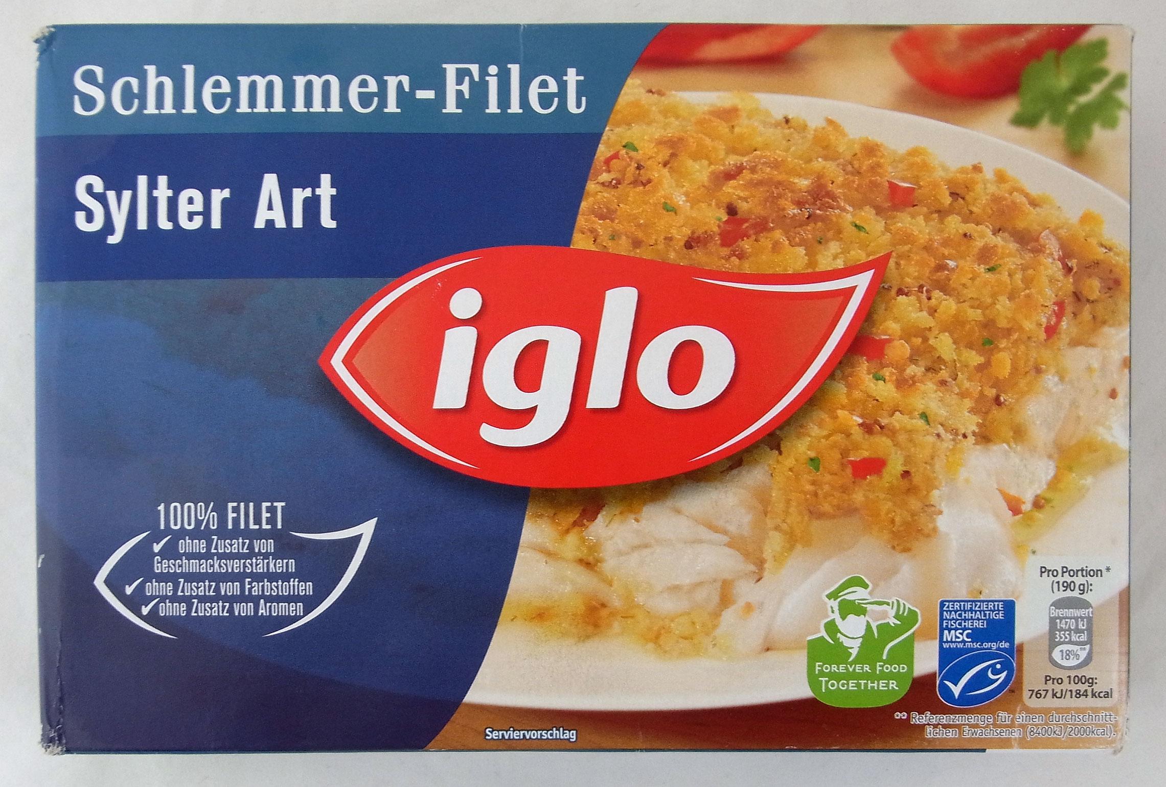 Iglo Tiefk 252 Hlfischprodukte Beispiel Sorte Sylter Art Lebensmittelklarheit