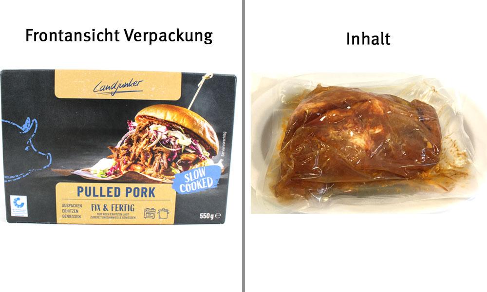 Pulled Pork Fertig