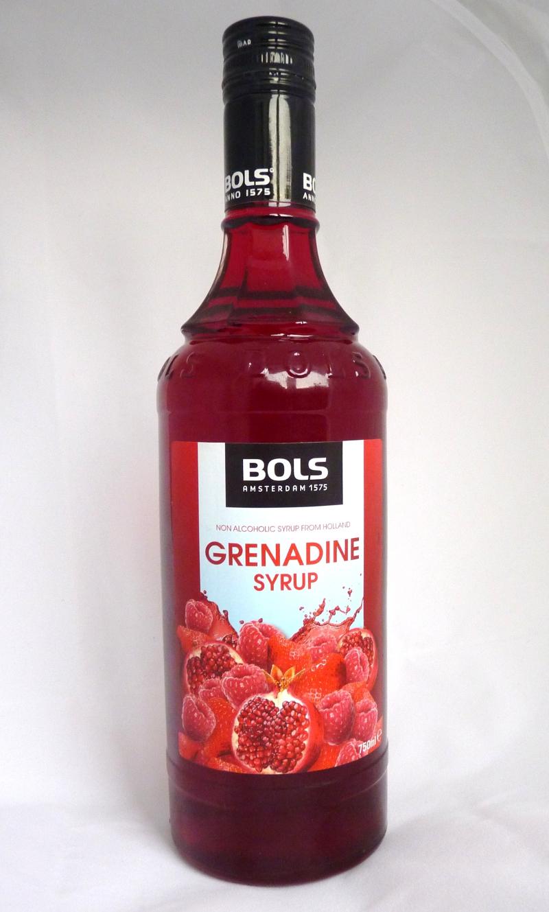 Bols Grenadine Syrup | Lebensmittelklarheit