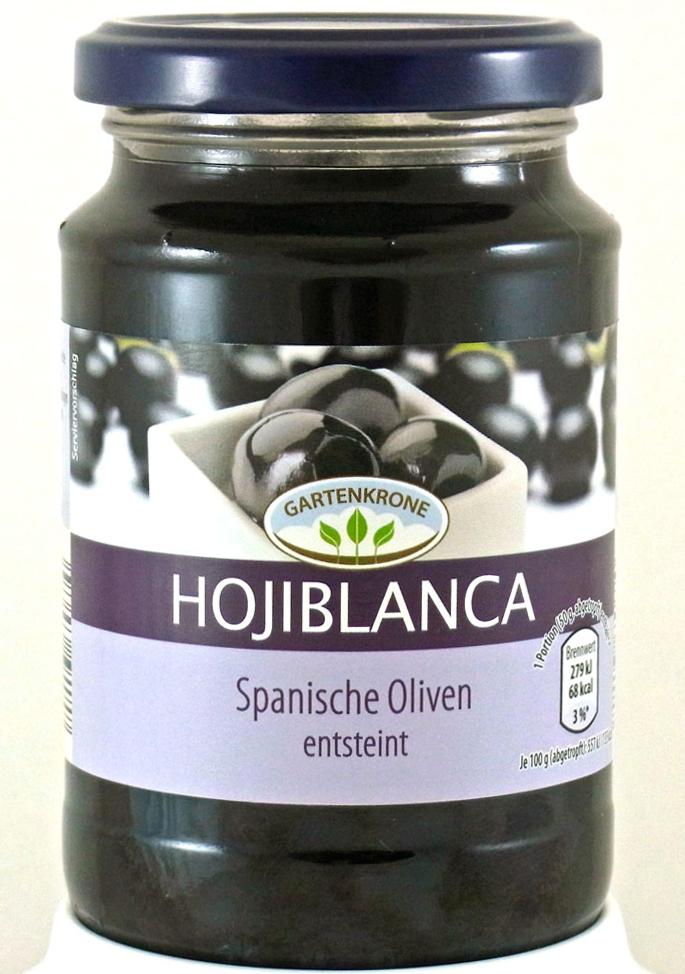 Fabelhaft Gartenkrone Hojiblanca Spanische Oliven, entsteint, vormals #EX_35