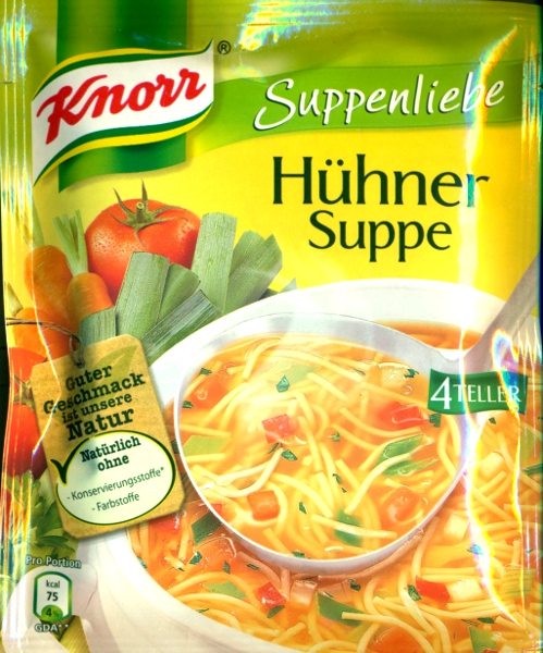 Knorr Hühnersuppe