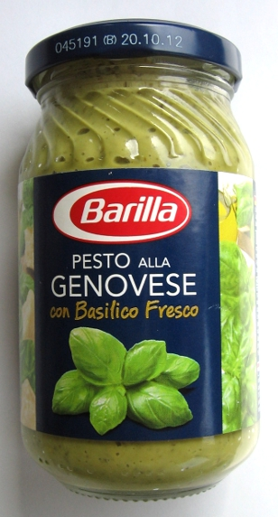 barilla pesto alla genovese lebensmittelklarheit. Black Bedroom Furniture Sets. Home Design Ideas