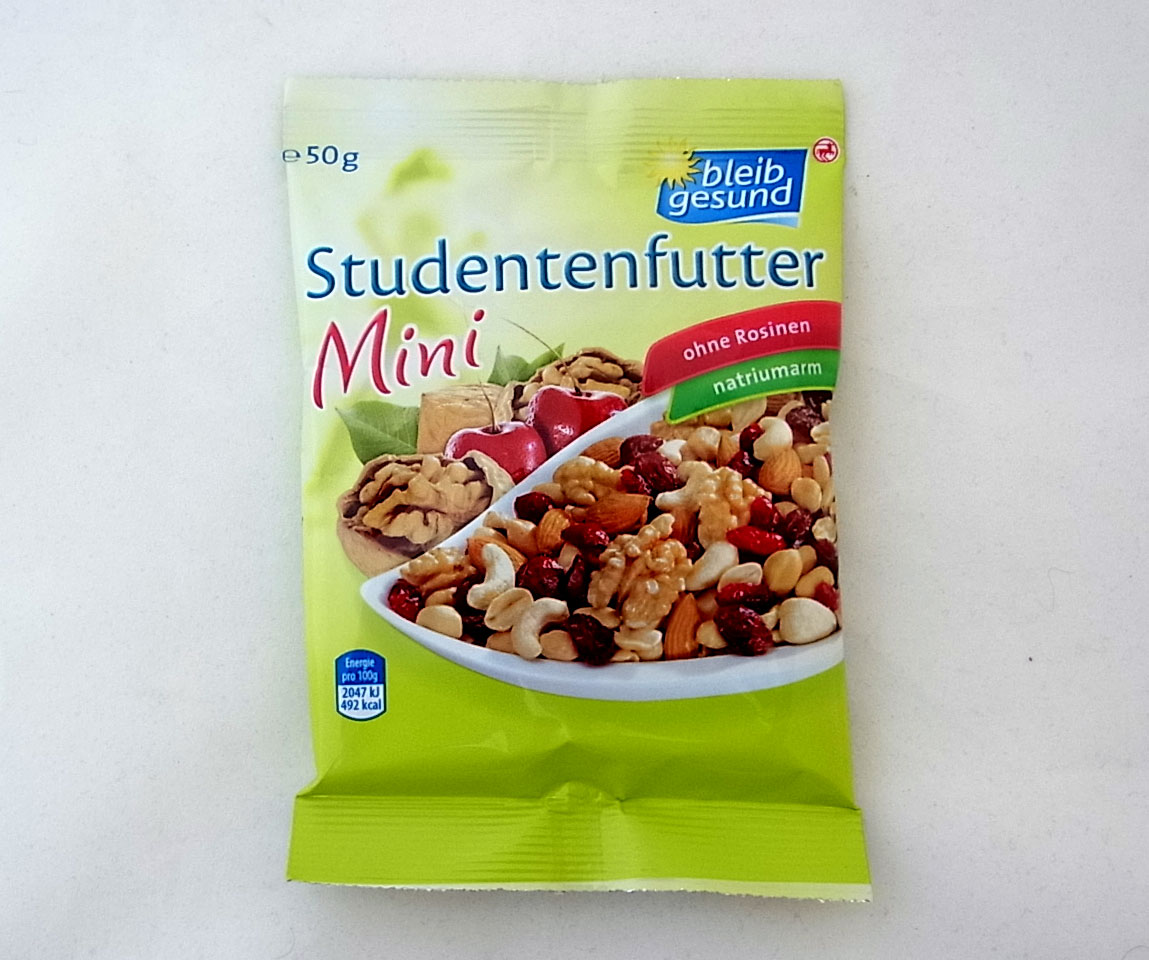 Studentenfutter Gesund